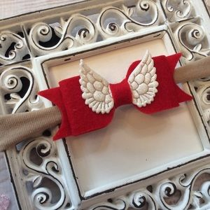 Other - Boutique Baby Girl Angel Wings Headband